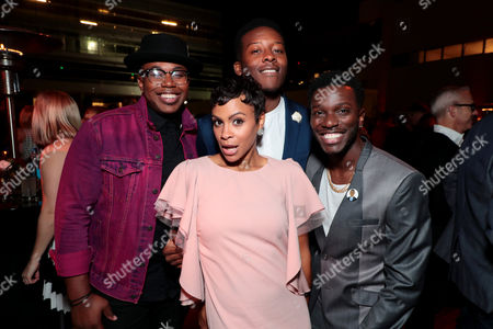 Marcel Spears, Carly Hughes, Brandon Micheal Hall, Bernard David Jones
