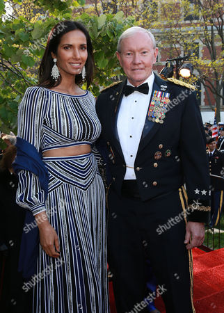 TV host Padma Lakshmi and General Martin Dempsey were among the ninety outstanding Americans who received the 2016 Ellis Island Medals of Honor from the National Ethnic Coalition of Organizations (NECO) on on Ellis Island, NY. NECO's mission is to honor and preserve the diversity of the American people and to foster tolerance, respect and understanding among religious and ethnic groups