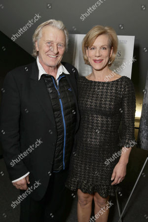 Rutger Hauer and Juliet Stevenson seen at the Los Angeles Special Screening of 'The Letters' Hosted by TakePart.org, in Los Angeles, CA