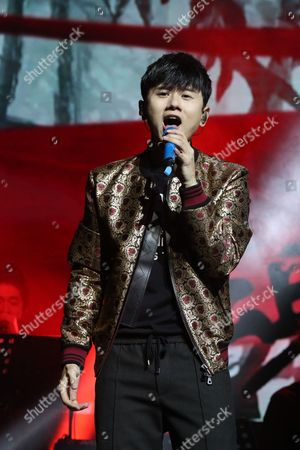 Editorial image of Jason Zhang in concert, Indigo at the O2, London, UK - 04 Oct 2017