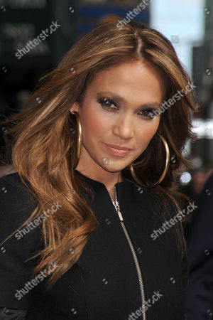 New York - April 19: Actress and Singer Jennifer Lopez Visits 'Late Show with David Letterman' at the Ed Sullivan Theater On April 19 2010 in New York City People: Jennifer Lopez