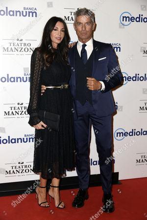 Giorgio Restelli with his wife