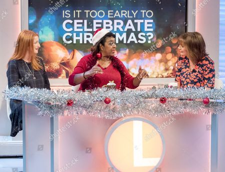 Alison Phillips, Rustie Lee and Lorraine Kelly