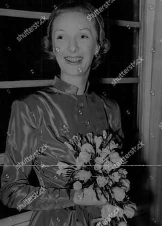 Actress Georgina Cookson On The Day Of Her Wedding To Lt. Col. Ernest Unwin A Former English Rugby Player Known As Jim Unwin. Box 757 718051740 A.jpg.