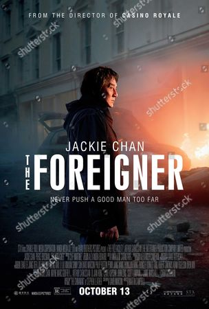 The Foreigner (2017) Poster Art. Jackie Chan