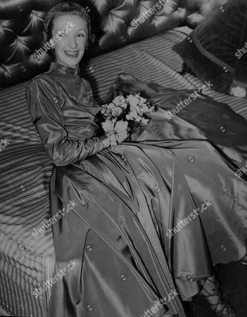 Actress Georgina Cookson On The Day Of Her Wedding To Lt. Col. Ernest Unwin A Former English Rugby Player Known As Jim Unwin. Box 757 718051741 A.jpg.