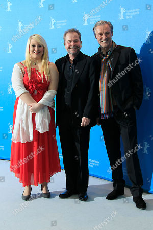 Actress Melanie Lenz, director Ulrich Seidl and actor Joseph Lorenz pose at the photo call for the film Paradise Hope at the 63rd edition of the Berlinale, International Film Festival in Berlin, Friday, Feb.8,2013