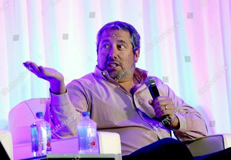 Steve Nickerson, President, Home Entertainment, Broad Green Pictures, participates in a panel discussion at the American Film Market (AFM) conferences held at the Fairmont Hotel, in Santa Monica, Calif