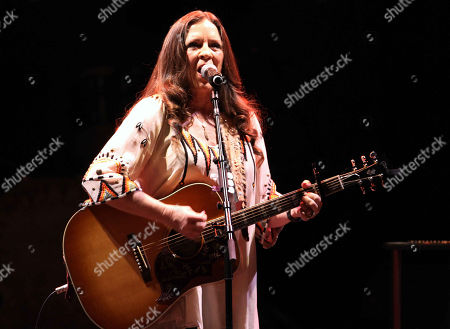 Stock Image of Carlene Carter performs at the Fox Theatre, in Atlanta