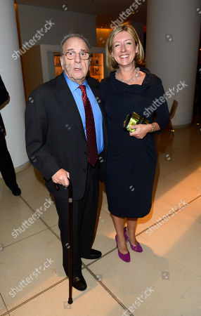 Ronald Harwood poses at London Film Festival American Airlines Gala -Quartet After Party at St Martins Lane Hotel on in London