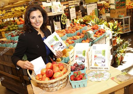 IMAGE DISTRIBUTED FOR INTUIT - Kavita Shukla, owner of FreshPaper, is seen during Intuit's QuickBooks Small Business Big Game Top 10 Regional Tour at Whole Foods, in Columbia, MD