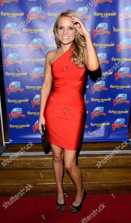 Rosie Parker poses at the Keith Lemon: The film UK Premiere Afterparty at the Planet Hollywood on in London