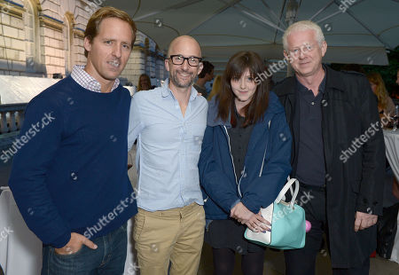 Nat Foxon, Tim Rash, Scarlett Rachel Anne Curtis and Richard Curtis at the UK Premiere of 'The Way, Way Back' held as part of Film4 Summer Screen series at Somerset House,, in London