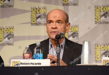 "Robert Picardo attends the ""Call of Duty Black Ops III: Zombie World"" panel on day 1 of Comic-Con International, in San Diego, Calif"