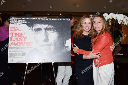 Marin Hopper and Ruthanna Hopper seen at The Last Movie at Paris Photo Los Angeles at the Paramount Theatre at Paramount Studios, in Los Angeles, Calif