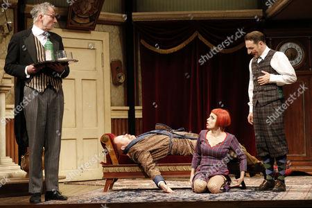 Thomas Schendel (Perkins), Guntbert Warns, Anna Thalbach (Florence Colleymoore), Boris Aljinovic (Thomas Colleymoore)