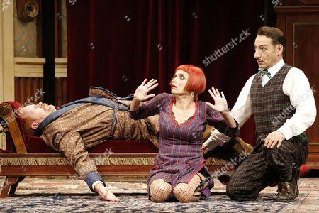 Guntbert Warns (Charles Haversham)(Charles Haversham), Anna Thalbach (Florence Colleymoore) (Florence Colleymore), Boris Aljinovic (Thomas Colleymoore) (Thomas Colleymoore)