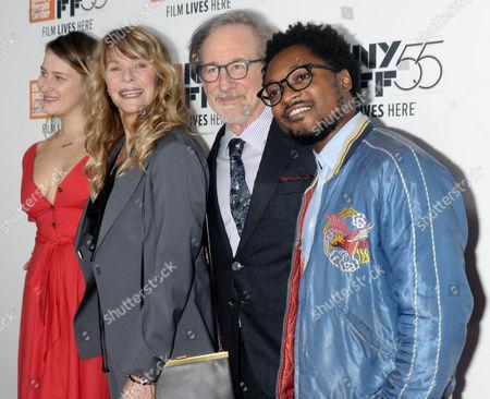 Destry Allyn Spielberg, Kate Capshaw, Steven Spielberg, Theo Spielberg