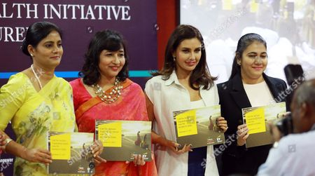 Editorial picture of Lisa Ray Attends A Program Cancer Care For Women, New Delhi, India - 21 Sep 2017