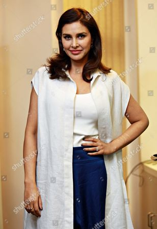 Editorial image of Lisa Ray Attends A Program Cancer Care For Women, New Delhi, India - 21 Sep 2017