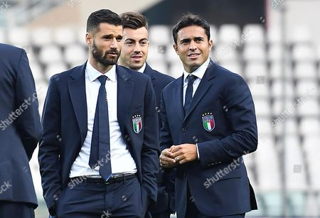 Antonio Candreva, Stephan El Shaarawy and Eder Citadin Martins