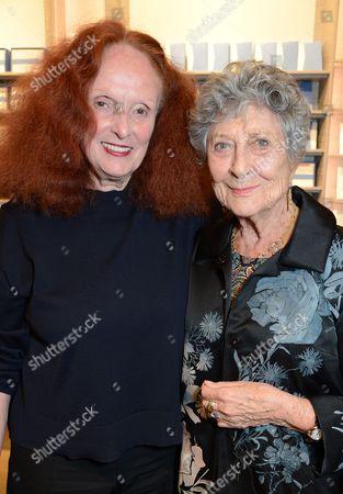 Grace Coddington and Joan Burstein
