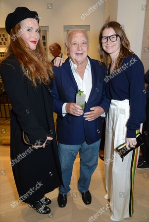 Stock Photo of Sophie Edelstein, Jacques Bahbout and Danielle Bennison-Brown