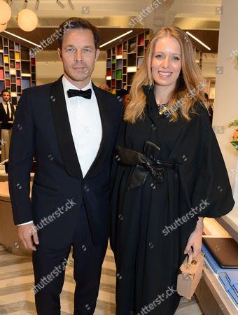Paul Sculfor and Federica Amati