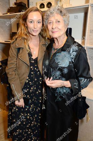 Yvonne Bannigan and Joan Burstein