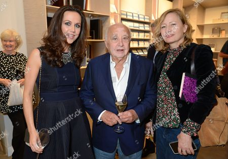 Editorial picture of 'GingerNutz: The Jungle Memoir of a Model Orangutan' by Michael Roberts and Grace Coddington book Launch at Smythson, London, UK - 05 Oct 2017