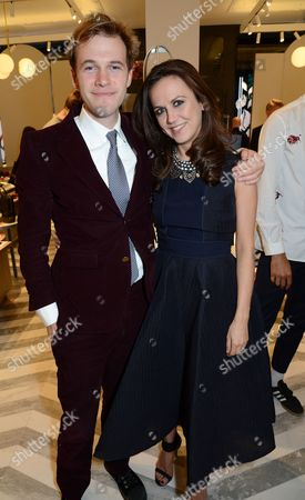 Gareth Moore and Nicole Bahbout