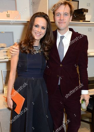 Stock Picture of Nicole Bahbout and Gareth Moore