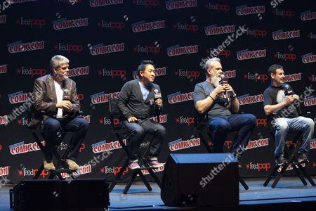 Editorial image of 'Comic Book Men' TV series panel, New York Comic Con, USA - 05 Oct 2017