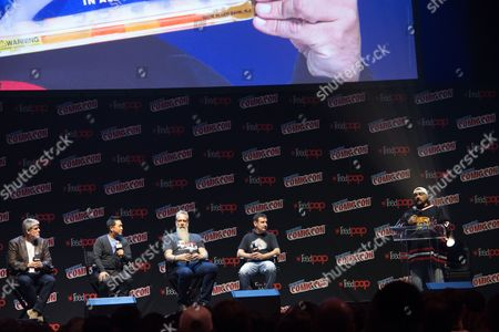 Stock Image of Mike Zapcic, Ming Chen, Bryan Johnson, and Walter Flanagan and Kevin Smith