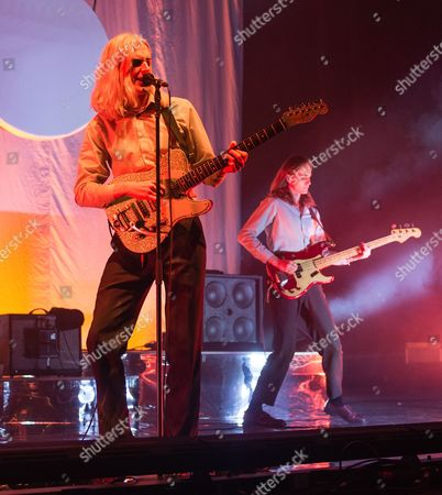 Editorial image of Sundara Karma in concert at O2 Academy Brixton in London, UK - 05 Oct 2017