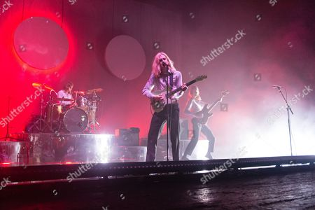Editorial picture of Sundara Karma in concert at O2 Academy Brixton in London, UK - 05 Oct 2017