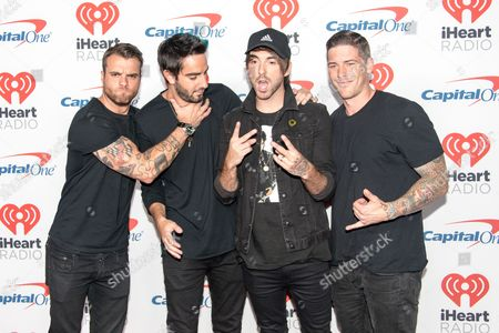 All Time Low - Zack Merrick, Jack Barakat, Alex Gaskarth and Rian Dawson