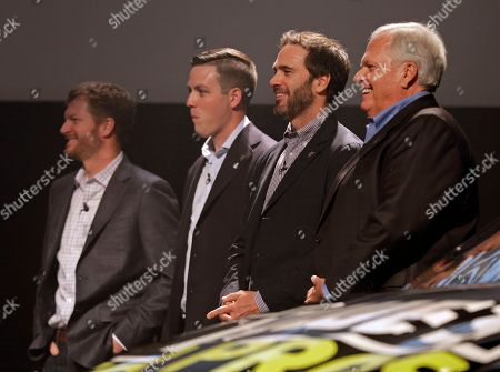 Editorial image of NASCAR Hendrick 2018 Auto racing, Charlotte, USA - 05 Oct 2017