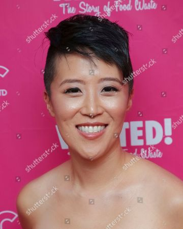 """Director Nari Kye attends the premiere of """"Wasted! The Story of Food Waste"""" at the Alamo Drafthouse Cinema, in New York"""