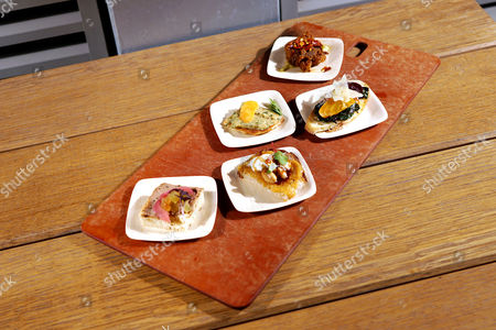 Food waste menu created by Mario Batali, Danny Bowien and Chef Ronnie New