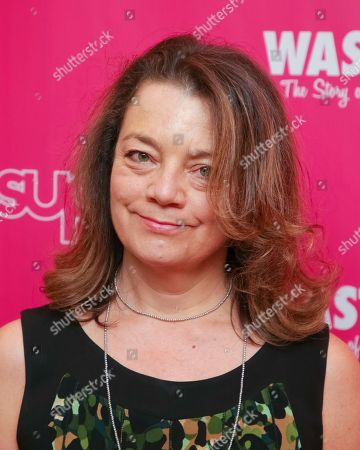 """Stock Photo of Restaurant Editor at Food & Wine Kate Krader attends the premiere of """"Wasted! The Story of Food Waste"""" at the Alamo Drafthouse Cinema, in New York"""