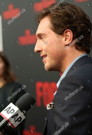 """Rory Fleck Byrne arrives at the LA Premiere of """"The Foreigner"""" at the Arclight Hollywood, in Los Angeles"""