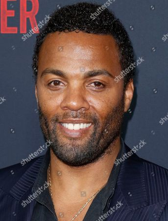 """Stock Picture of Ray Fearon arrives at the LA Premiere of """"The Foreigner"""" at the Arclight Hollywood, in Los Angeles"""