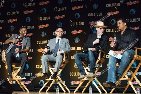 Editorial picture of 'StarTalk Radio' panel, New York Comic Con, USA - 05 Oct 2017