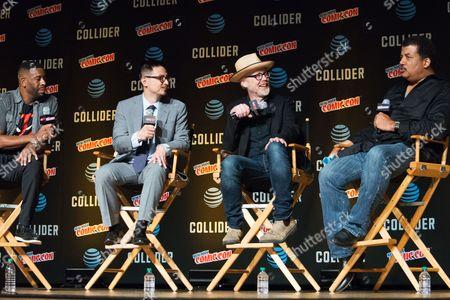 Editorial image of 'StarTalk Radio' panel, New York Comic Con, USA - 05 Oct 2017