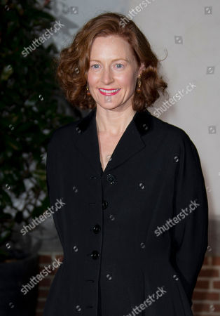 Geraldine Somerville arrives at the Globe Theatre, central London, for aGala evening. Funds raised on the night are in support of a new indoor theatre, the candle-lit Sam Wanamaker Playhouse, which opens its doors for the first time in January 2014