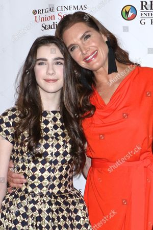 Sterling Jerins and Brooke Shields