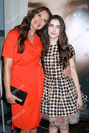 Brooke Shields and Sterling Jerins