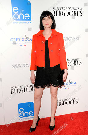 """Actress Michelle Hicks attends the """"Scatter My Ashes At Bergdorf''s"""" premiere at Florence Gould Hall on in New York"""