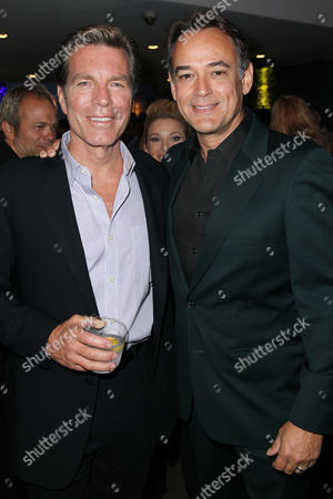 EXCLUSIVE - Peter Bergman, left, and Jon Lindstrom attend the 2014 Daytime Emmy Nominee Reception presented by the Television Academy at The London West Hollywood on